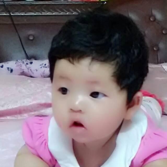 谁有我家宝宝头发长_宝宝一出生头发就又黑又赵丽颖发型现在图片