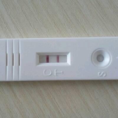 还有两天月经,今天早上用早孕试纸测了一下,是