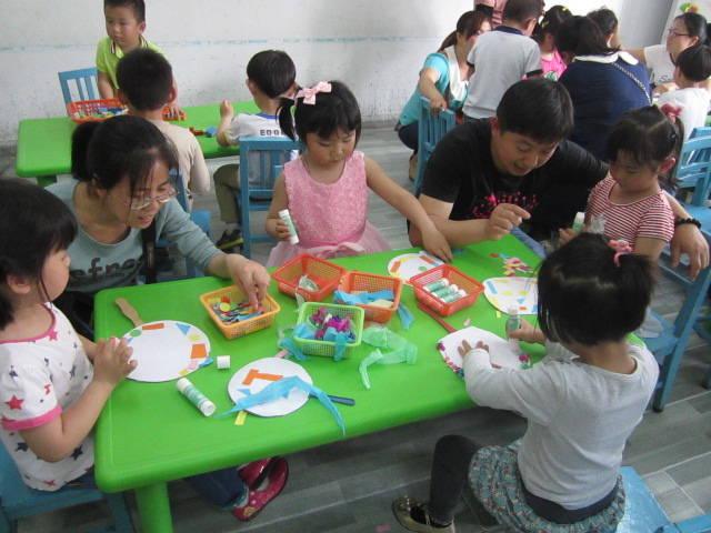 回民幼儿园开放家长半日活动啦