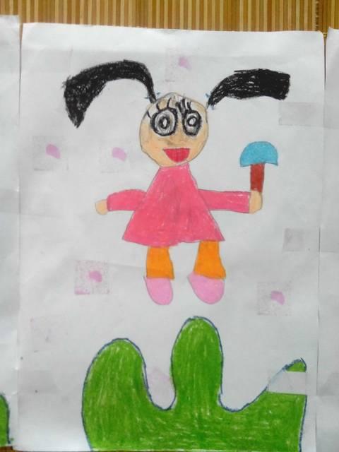 铅笔画出来的冰淇淋-吃着冰激凌的小妞-盘点暑期绘画作品 假期终于结束了一阵忙碌 一阵紧