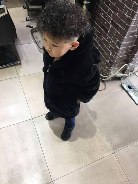 男宝宝都发型好看_大家都来说说男宝好看齐刘海什么能长图片