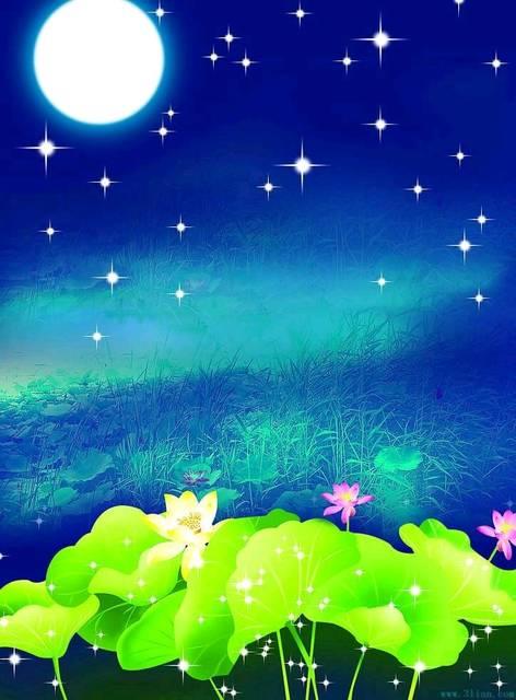 送子娘娘,送太阳和星星来我家吧,我们月亮一个人没有伴 有了