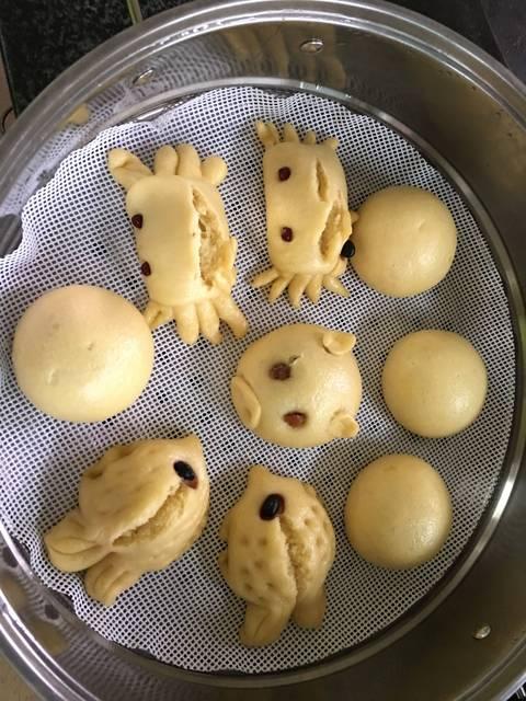 馒头馒头_大面粉螃蟹鱼鱼鱼红薯里加了红薯奶熠盛精菜品图片