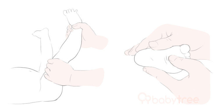 新生儿浴后皮肤护理的3个步骤